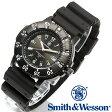 [送料無料] [正規品] スミス&ウェッソン Smith & Wesson スイス トリチウム ミリタリー腕時計 SWISS TRITIUM SPORT WATCH BLACK SWW-450-BLK [あす楽] [ラッピング無料]