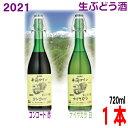 【2021年11月中旬頃発売 予約受付中】井筒無添加生ワイン2021年新酒 720ml イヅツ 生ぶ