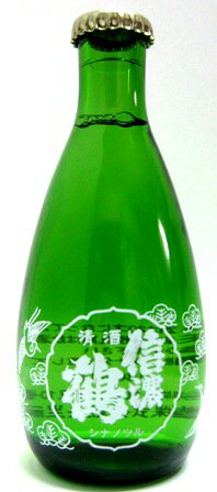 信濃鶴 純米 180mlとっくり瓶 一合徳利瓶 ...の商品画像