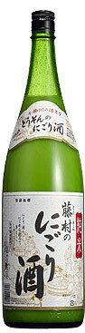 千曲錦純米藤村のにごり酒1800ml18L
