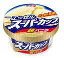meiji 明治エッセルスーパーカップ 超バニラ 24個入りクール冷凍便にて発送段ボール箱のサイズ29cm×20cm×21cm