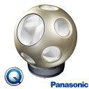 パナソニック 創風機 Q 扇風機 サーキュレーター DCモーター シャンパンゴールド おしゃれなデザイン 球の形をした扇風機 個性派インテ..
