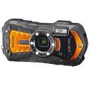【即納】【返品OK!条件付】リコー デジタルカメラ WG-70 WG-70-OR オレンジ【KK9N0D18P】【60サイズ】