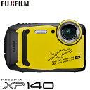 富士フイルム タフネスカメラ FinePix XP140 防水 耐衝撃 防塵 耐寒 4K動画 デジタルカメラ XPシリーズ FX-XP140Y イエロー