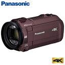【キャッシュレス5%還元店】【返品OK 条件付】パナソニック デジタル 4K ビデオカメラ 64GB 4K AIR HC-VX992M-T カカオブラウン【KK9N0D18P】【60サイズ】