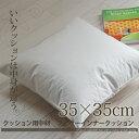 日本製 クッション用中材 フェザークッション 35×35cm ヌードクッション クッションの中身 インナークッション 羽根クッション ソファー リビング ベッド 座布団 エムール