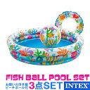 【送料無料】【INTEX インテックス】プールセット 浮き輪...