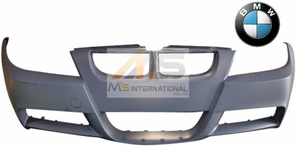 【M's】E90 E91 BMW 3シリーズ(05y-12y)純正品 Mスポーツ フロントバンパー//正規品 未塗装 31...