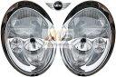 【M's】R50 R52 R53 BMW ミニ(01y-06y)純正品 キセノン ヘッドライト 左右//正規品 HID MINI ワン クーパー S コンバーチブル 日本仕様 左側通行用 車検対応 6312-6933-840 6312-6933-841 63126933840 63126933841