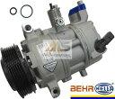 【M's】VW ポロ(6R/6C)/イオス(1F)/CC(358) BEHR_HELLA製・他 エアコンコンプレッサー(Oリング付)//純正OEM AC コンプレッサー フォルクスワーゲン VOLKSWAGEN POLO EOS 5N0-820-803H 5N0820803H