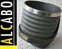 【M's】アルファロメオ 147 147GTA GT ALCABO ドリンクホルダー ブラック+アルミリングカップタイプ//ALFAROMEO アルカボ AL-A102BS ALA102BS 新品