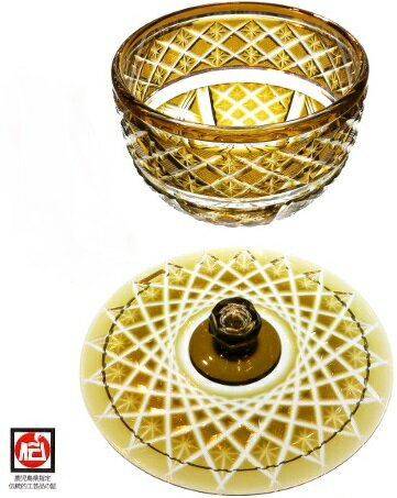 【 - 薩摩切子 - 】創作 茶道具 - 水指...の紹介画像2