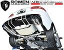 【M's】 アウディ A4・A4 アバント 2.0TFSI 左右 両側 4本出し マフラー ROWEN / ロウェン エアロ // audi 8K 系 PREMIUM01S オール ステンレス マフラー / 1A001Z00