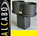 【M's】W463 ベンツ AMG Gクラス 中期(2001y-2012y)ALCABO ドリンクホルダー(ブラック)//ツインタイプ G463 G320 G320L G500 G500L G550 G55 G55L アルカボ AL-M308B ALM308B 新品