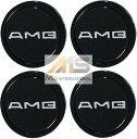 【M's】AMG 純正品 ホイールセンターキャップ 58mm (1台分/4個セット)//メルセデスベンツ 201-400-0125 2014000125 W201 W124 W126 R129 R107