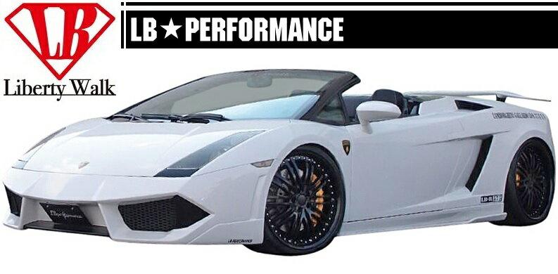 【M's】 ランボルギーニ ガヤルド LB パフォーマンス フル エアロ 4点 ボディ キット // Lamborghini Gallard/フロント バンパー/サイド&リア ディフューザー/リアウイングVer.3/LB-PERFORMANCE Complete Body kit FRP リバティウォーク