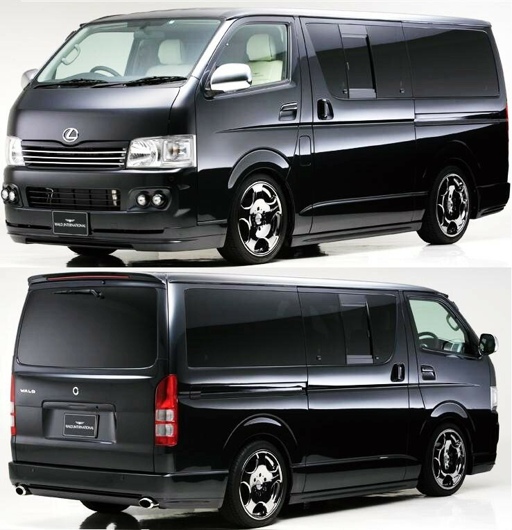 m 39 s hiace van regius ace kdh trh 200 h16 8 wald executive line. Black Bedroom Furniture Sets. Home Design Ideas