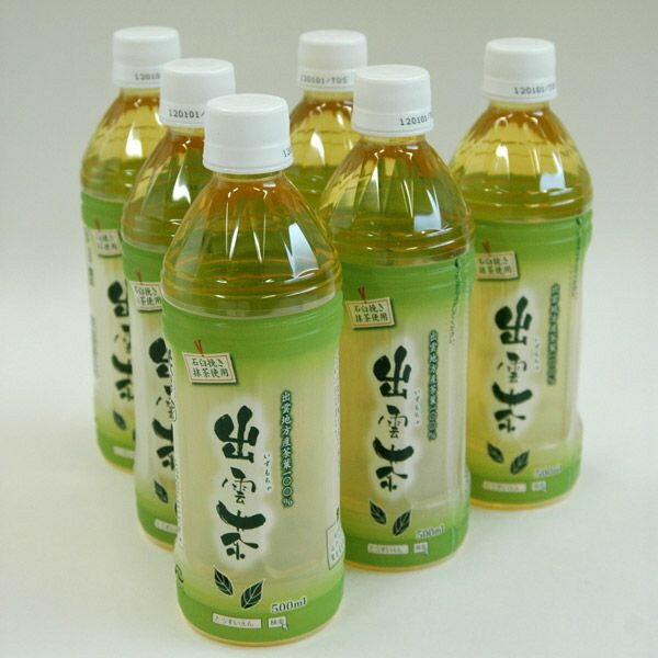 【茶 日本茶】 桃翆園 ペットボトル入り出雲茶 6本セット 【茶 お茶 日本茶 国産 種類豊富 お試し ギフト】