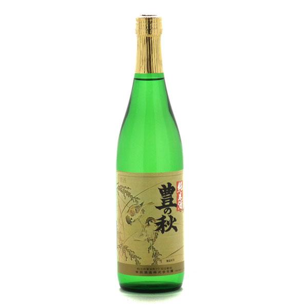 米田酒造特別純米 豊の秋「雀と稲穂 」720mlの商品画像