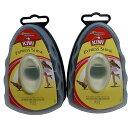 KIWI エクスプレス 革靴用つや出しワックス スポンジタイプ 全色用 7ml【2個セット】