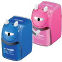 [Mitsubishi Pencil] manual operation pencil sharpener, hand-operated pencil sharpener (PLT blue blue /PLT pink)