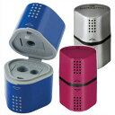 ★Silver pink is blue 3 20%OFF ★ Ferber Castile hole pencil sharpener grips 2001 [3 hole plastic pencil sharpeners] [red line / red Castile / red Castile] [pencil sharpener] [pencil sharpener]