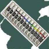 【ターナーアクリル絵具】ターナーアクリルガッシュ13本(12色)スクールセット(11mlチューブ入)