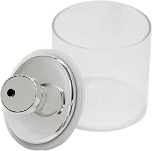 富士商 密閉 ガラス キャニスター 保存容器 エア・リデューサー スリム