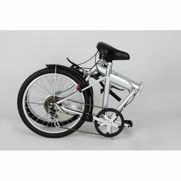 【送料無料】ACTIVE911 ノーパンクFDB20 6S / 20インチ折畳自転車6段ギア MG-G206N-SL