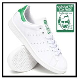 �ڥ�ǥ������� adidas Stan Smith Sneaker ���ǥ����� �����ߥ� ��ǥ����� ���塼�� ���ˡ����� Core White/ Green (��/��) �ۥ磻�� ����� M20324 ��¨��ȯ����
