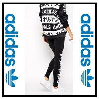 ������̤��Φ��adidasORIGINALS�ʥ��ǥ�������TREFOILLEGGINGS(�ȥ�ե�����쥮��)��ǥ������쥮��BLACK/RUNNINGWHITE(�֥�å�/�ۥ磻��)(M30671)�ڹ���¨Ǽ�ۡ������ʡ�