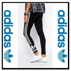 ������̤��Φ��adidasORIGINALS�ʥ��ǥ�������TREFOILLEGGINGS(�ȥ�ե�����쥮��)��ǥ������쥮��BLACK/CWHITE(�֥�å�/�ۥ磻��)(M30707)�ڹ���¨Ǽ�ۡ������ʡ�