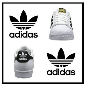 �ڴ�����adidasORIGINALS�ʥ��ǥ�������SUPERSTARJ(�����ѡ�������)��ǥ��������塼�����ˡ�����FTWWHITE/COREBLACK/FTWWHITE�֥�å�/�ۥ磻��(C77154)�ڹ���¨Ǽ�ۡ������ʡ�