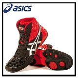 �ڴ���������ASICS (�����å���) SPLIT SECOND 9 WRESTLING SHOES ���ץ�å� ������� 9 ��� �쥹��� ���塼�� RED/SILVER/BLACK ��å�/����С�/�֥�å� (J203Y 2193) ¨ȯ����ǽ (����ɥ쥹 �ȥ�å�)