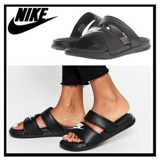 耐克 (Nike) 女性 BENASSI 雙核處理器超幻燈片 (Benassi 雙核處理器超幻燈片) 婦女健康淋浴涼鞋 (黑/白) 黑白 (819717 010) 無止境的旅途 (無休止的旅行)