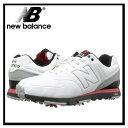 【希少!大人気!】【入手困難】【メンズ ゴルフシューズ】NEW BALANCE (ニューバランス) NBG574 (WHITE/RED) 574 ホワイト/レッ...