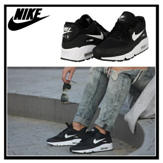 耐克 (Nike) AIR MAX 90 呼吸 (GS) (空氣最大 90 微風) (黑/白) BR 運動鞋黑色/白色 (833475 001) 無止境的旅途 (無休止的旅行)