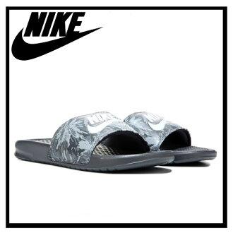 耐克 (Nike) 女性 BENASSI JDI 列印 (Benassi JDI 列印) 健康淋浴涼鞋 (DRK 體育館/白-PR PLTNM-ANTHRCT) 深灰色 (618919 005) 無止境的旅途 (無休止的旅行)