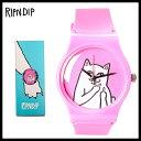 【希少!大人気! 時計】 RIPNDIP(リップンディップ)Lord Nermal Watch ユニセックス レディース ウィメンズ メンズ 時計 腕時計 キャット 猫 ネコ PINK (ピンク)