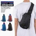 【希少 大人気 】 patagonia (パタゴニア) ULTRALIGHT BLACK HOLE SLING (ウルトラライト ブラック ホール スリング) ウエストバッグ ボディバッグ ショルダーバッグ アウトドア バッグ BLACK (ブラック) 49020 BLK エンドレストリップ ENDLESSTRIP