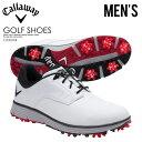 【希少! 大人気! メンズ ゴルフシューズ】 CALLAWAY (キャロウェイ) LA JOLLA (ラホヤ) MENS ゴルフ WHITE...