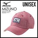 【日本未入荷!入手困難!】MIZUNO (ミズノ) OXFORD GOLF CAP (オックスフォード ゴルフ キャップ) 帽子 メンズ レ...