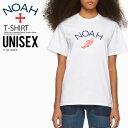 【日本未入荷!! 入手困難! ユニセックス カットソー】 NOAH NYC (ノア ニューヨーク) WINGED FOOT LOGO TEE (ウイング フット 半袖 Tシャツ) ロゴ メンズ レディース コットン トップス WHITE (ホワイト) T13SS19WHT