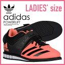 【希少!大人気!レディース モデル】 adidas(アディダス)POWERLIFT.3 W (パワーリフト.3) WOMENS パワーリフティング ウェイトリフティング 重量挙げ シューズ SUNGLO/CBLACK/FTWWHT (サングロー/ブラック/ホワイト) AQ3333 ENDLESS TRIP (エンドレス トリップ)