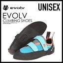 【希少!大人気!ユニセックス モデル】 EVOLV (イボルブ) ELEKTRA (エレクトラ) MENS WOMENS ボルダリング クライミング シューズ TEAL (ティール) ENDLESS TRIP (エンドレス トリップ)