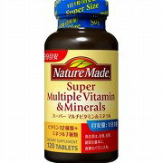 Nature made ® super multi-vitamin & mineral 120 grain fs3gm