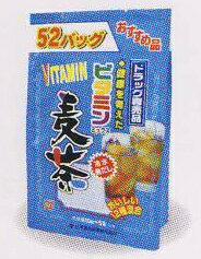 全品3%OFFクーポン!! 7/24 23:59まで山本漢方 お徳用 ビタミン麦茶 10g×52包【P25Apr15】