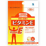 Kobayashi pharmaceutical nutrition supplementary food vitamin E 60 grains (about 30 minutes)