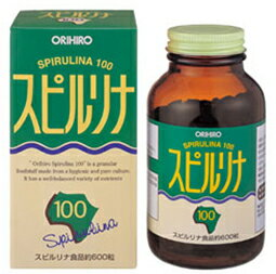 Spirulina 100 600 grains (120 g)