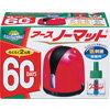 アースノーマット60日セット ローズピンク アース 製薬 ※お取り寄せ商品fs04gm